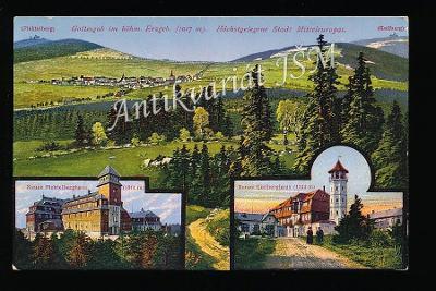 Karlovy Vary H4862 Krušné Hory Jáchymov Boží Dar Klínovec Koláž