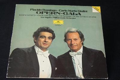 LP -Placido Domingo ,Carlo M.Giulini - Opern Gala   (d12)
