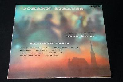 LP - Johann Strauss - Waltzes and Polkas    (d8)