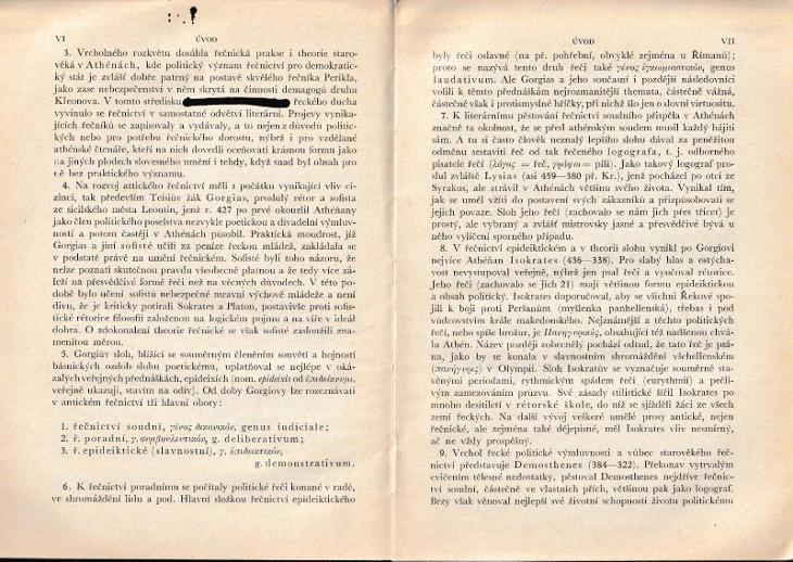 M. Tullius Cicero: Výbor z jeho řečí. Díl I, Text, 1935 - Knihy