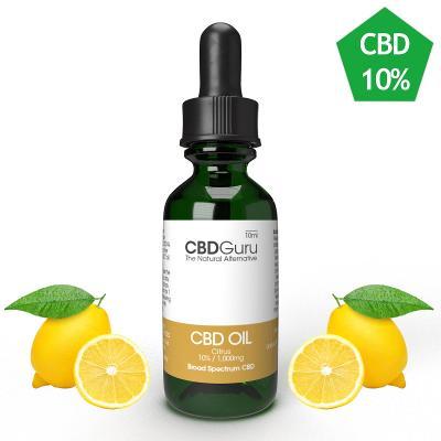 CBD Konopný Olej (kapky) 10% 10ml - CITRUS
