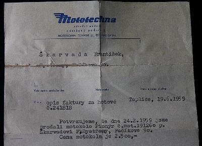 Mototechna - Teplice  1959  (9a)