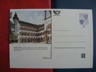 ** CDV A 31/95 - VELKÉ LOSINY - renesanční zámek z 80. let 16. století