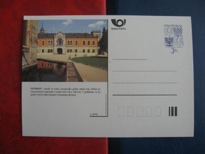 ** CDV A 30/95 - SYCHROV - zámek ve slohu romantické gotiky - popis