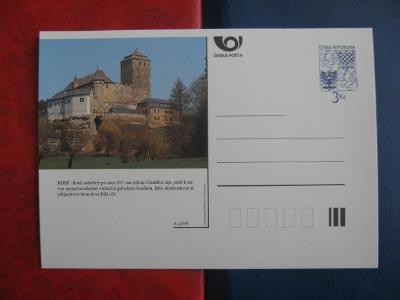 ** CDV A 22/95 - KOST - gotický hrad, založený po roce 1371 - popis