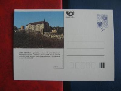 ** CDV A 20/95 - Český Šternberk - gotický hrad ze 13. století - popis