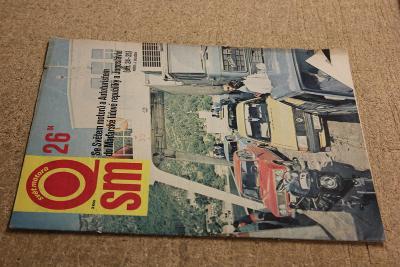 STARÝ ČASOPIS SVĚT MOTORŮ ROK 1984 Č. 26