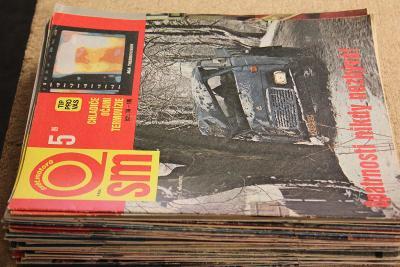STARÝ ČASOPIS SVĚT MOTORŮ ROK 1989 Č. 5