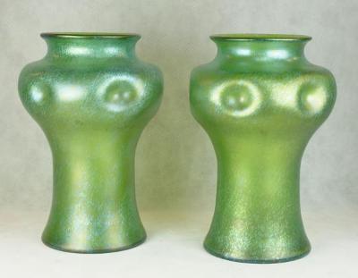 Dvě vázy - Loetz