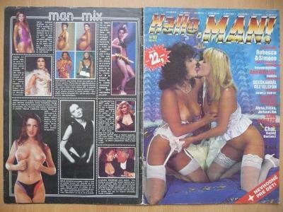 Erotický časopis - Hallo, MAN! - číslo 4 z roku 1993