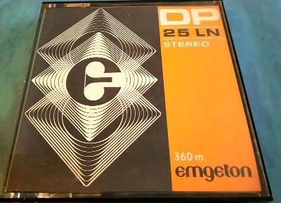 Emgeton DP25 LN 360m Stereo Kotoučovy pásek