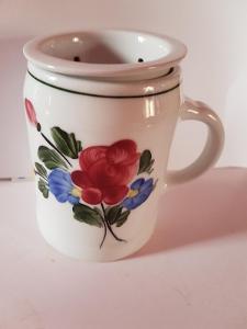 HRNEK na čaj se sítkem bez pokličky objem cca 300ml, porcelán Austria