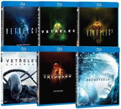 Vetřelec: Kompletní kolekce 6 filmů - Blu-ray (6 BD)