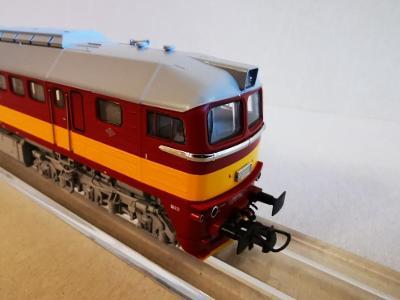 Dieselová lokomotiva T 781 ČSD Sergej H0 digitální ROCO