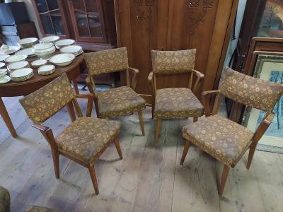Retro židle - křesílka  halabala ?