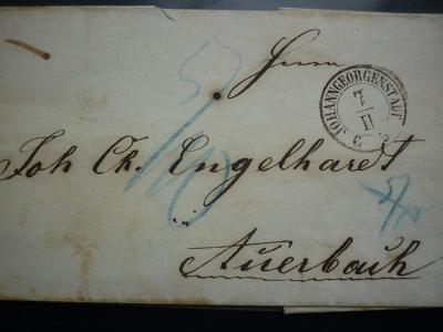 1830 JOHANNGEORGENSTADT POTŮČKY AUERBACH NEJDEK KRASLICE KARLOVY VARY!