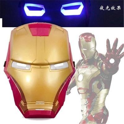 Svítící maska Iron man - 5493.