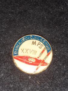 Odznak MPS XIII.ročník DUNAJEC - Č.KLÁŠTOR - kanoistika