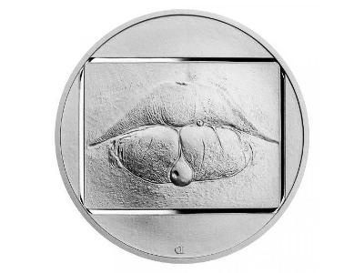 Stříbrná medaile JAN SAUDEK - Marie č.1 proof 2021 !!!!!!!