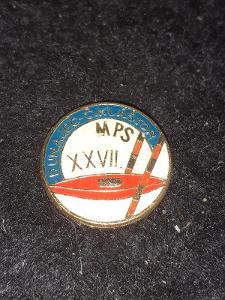 Odznak MPS XXVII. ročník DUNAJEC - Č.KLÁŠTOR - kanoistika