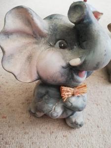 Slon kameninový...... 15 cm
