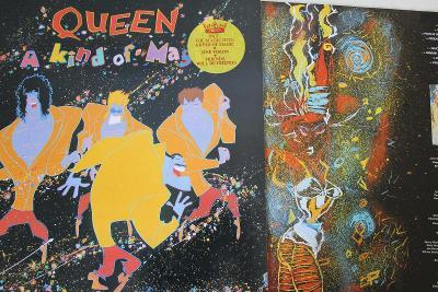 Queen – A Kind Of Magic LP 1986 vinyl DMM 1.press super stav NM-