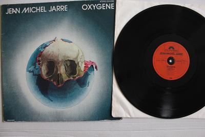 Jean Michel Jarre – Oxygene LP 1976 vinyl Germany top stav EX