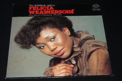LP - Felicia Weathersová - Na Křídlech Zpěvu   (s18)