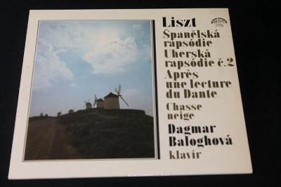 LP - Ferenc  Liszt - Španělská rapsodie ,Uherská rapsodie   (d25)