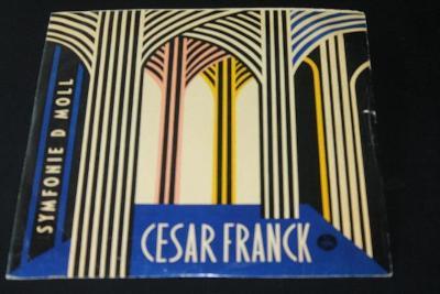 LP - Cesar Franck - Symfonie D MOLL   (d25)