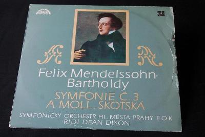 LP - Felix Mendelssohn Bartholdy - Symf. č.3 a Moll ,Skotská   (d5)