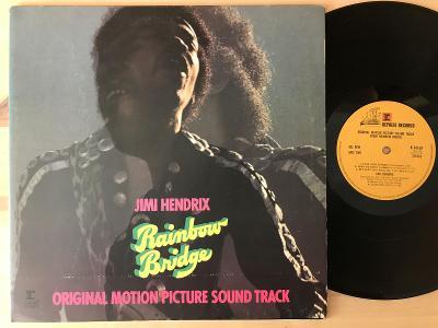 JIMI HENDRIX Rainbow bridge UK 1PRESS VG+ 1981