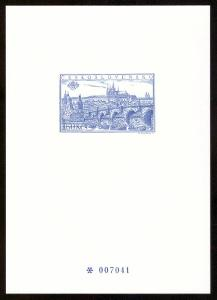 1998 (ČR) - PT8 - Výstava známek PRAGA 55, Černotisk (6791)