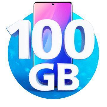 Limitovaná nabídka  100 GB  O2