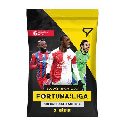 Fotbalové kartičky Fortuna Liga 2020/21 Druhá série - BALÍČEK RETAIL