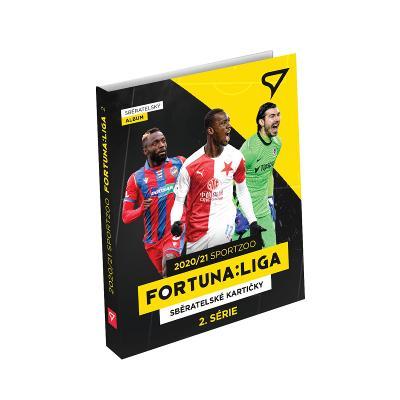 Originál Album na Fotbalové kartičky FORTUNA LIGY 2020/21 Druhá série