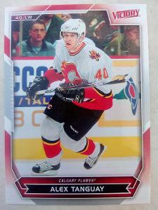 Alex Tanguay, Calgary Flames, #149, UD Victory 2007/08