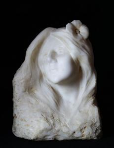 Auguste-Louis Dion - Hlava dívky