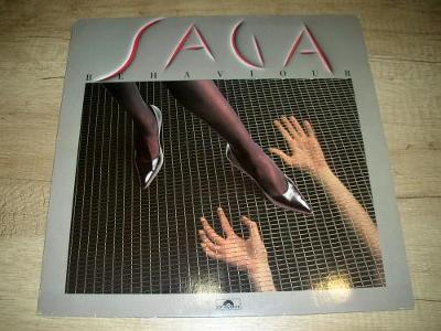 Saga  – Behaviour (1985) 1.Press , TOP STAV!!!