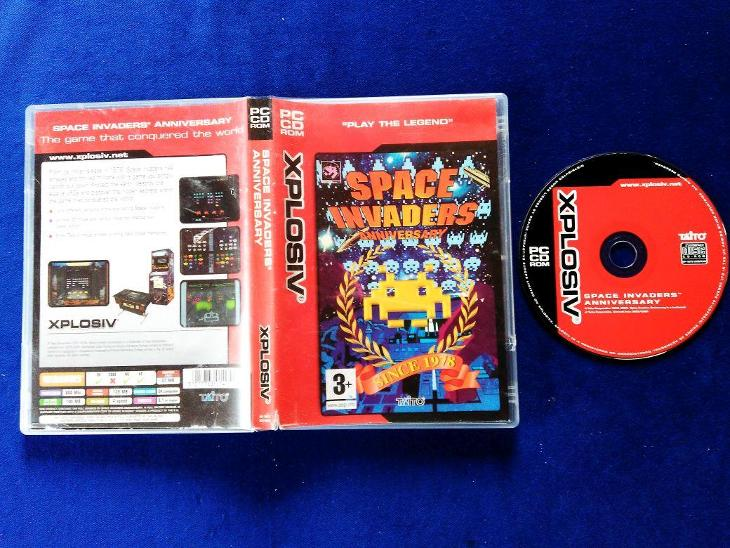 PC - SPACE INVADERS ANNIVERSARY - (retro 1978-2004) Top - Hry