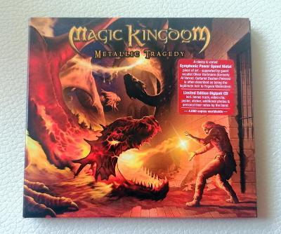 MAGIC KINGDOM - Metallic Tragedy - LIM.EDIT. DIGI 1 PRESS 2004