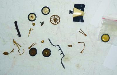 IGRA, kolečka a náhradní díly  na autíčka Old Timer