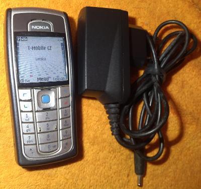 Mobil Nokia 6230i -hezký a vč. orig. nabíječky a dobré baterie !!!
