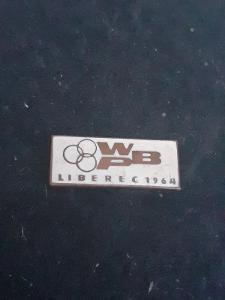 Odznak WPB Závod Míru Liberec 1964 - bílá  varianta
