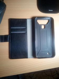 Mobil Cubot Quest Lite-kožené pouzdro,folie 2 a 1 různý, nano sklo 1x