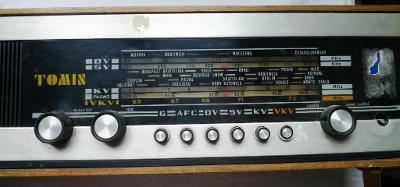 Staré lampové rádio - TESLA TOMIS NAPOSLEDY!!