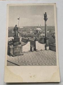 Pohled  Praha - panoráma z Hradčan