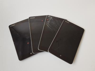 4ks Tablet Lenovo MiiX 2 8 - nefunkční/na díly/na opravu