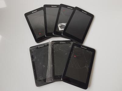 7ks Tablet Lenovo A3500FL - nefunkční/na díly/na opravu