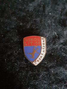 Odznak Sokol Litice - česká házená